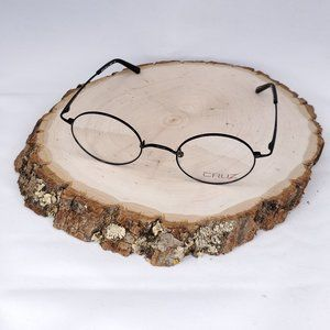 Maple Dr by Cruz Black Round Eyeglass Frames
